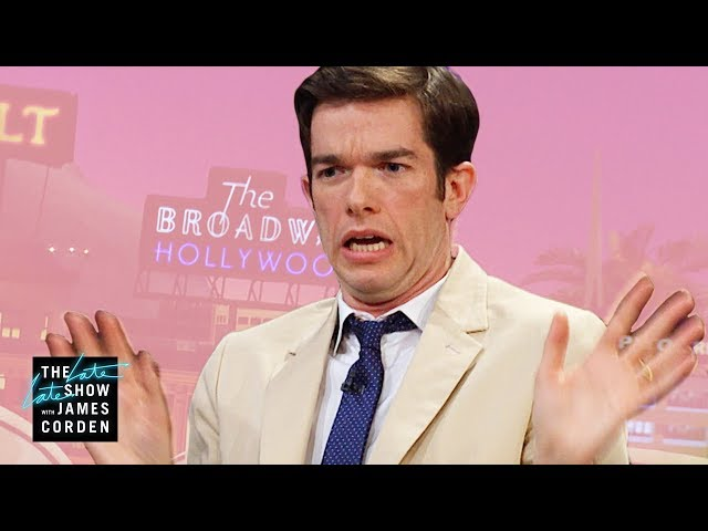 John Mulaney & Zooey Deschanel Were Street Smart Kids