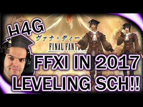 Final Fantasy XI In 2017 - Leveling Scholar!!! - How Do Macros Work Again?