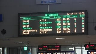 Learn how to use a Korean train from Busan to Seoul