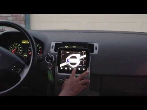 2009 volvo c70 with a custom install aftermarket satellite