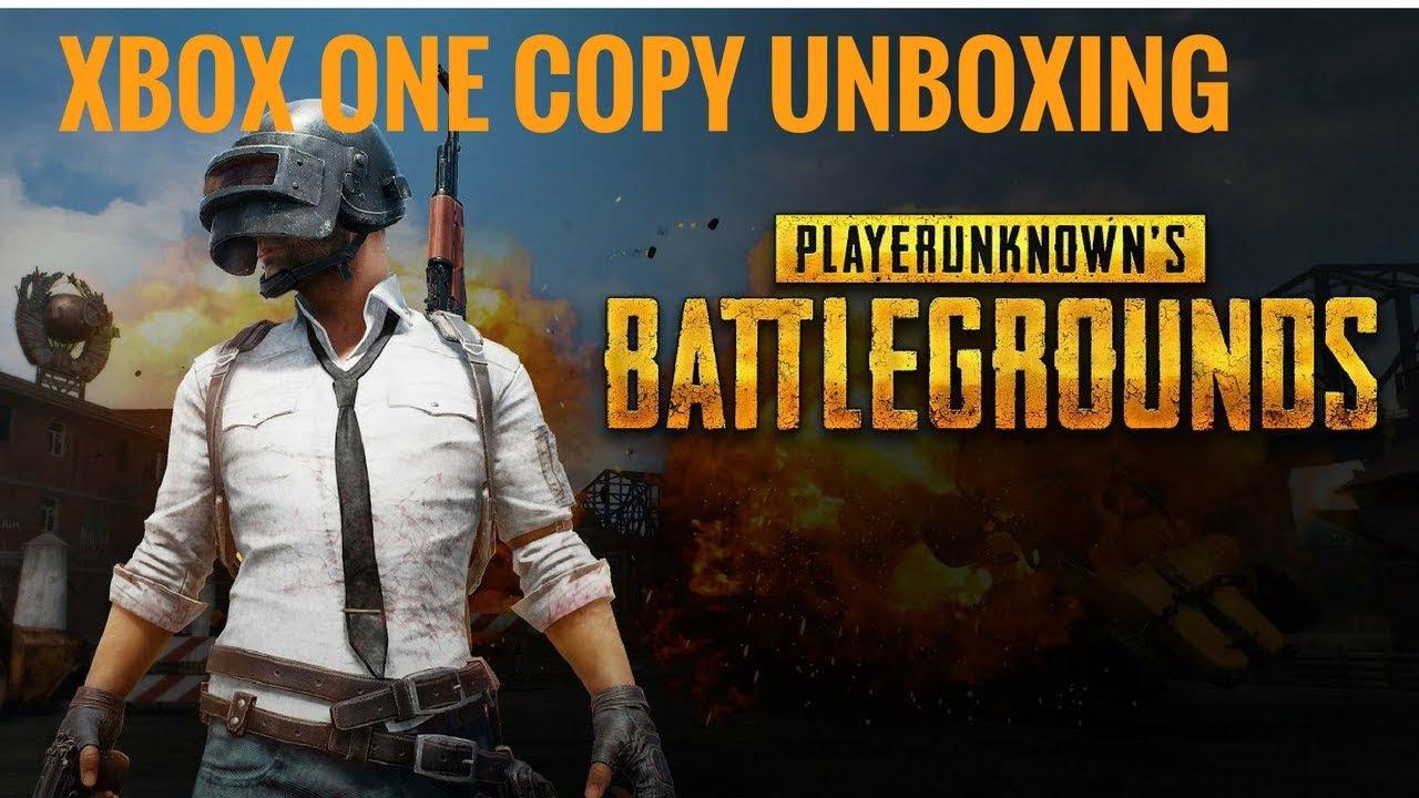PUBG - XBOX ONE COPY UNBOXING - YouTube