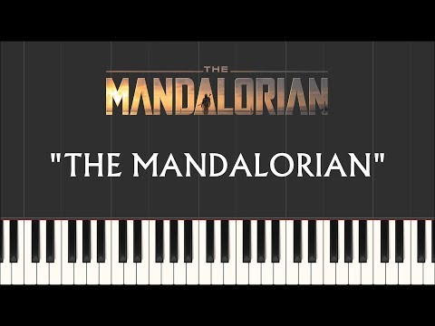 star-wars:-the-mandalorian---the-mandalorian-/-main-theme-(synthesia-piano)