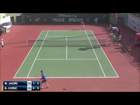 Corics first Challenger title [ATP Izmir 2014: Coric - Jaziri (Final) Highlights]