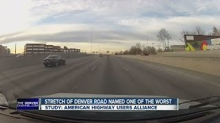 Stretch of Denver road named one of the worst in the country