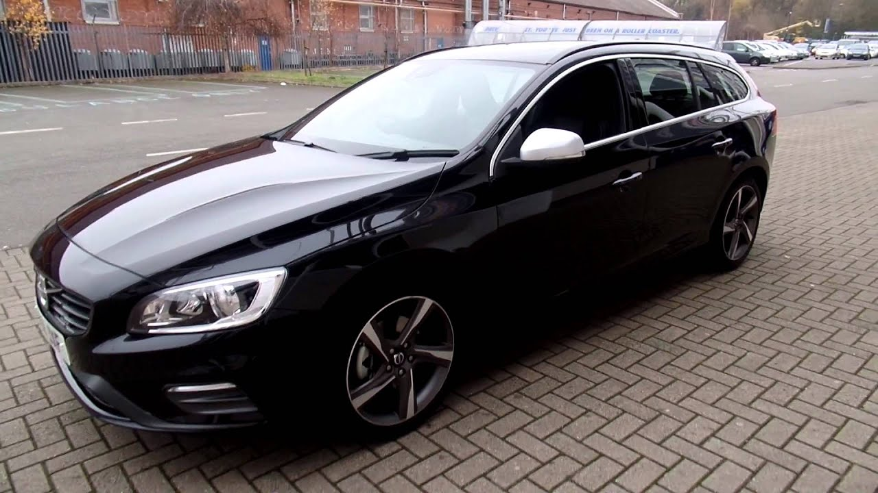 volvo v60 d3 r design nav 6 speed manual youtube. Black Bedroom Furniture Sets. Home Design Ideas