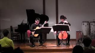 『サン・イルデフォンソの夜想曲』〜ギター&チェロバージョン〜 Nocturno de San Ildefonso ; guitar and cello version 作曲:田中聰