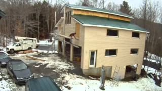 Installing Vinyl Siding - 66 - My Diy Garage Build Hd Time Lapse
