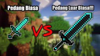 CARA MEMBUAT SENJATA SUPER DI MCPE!!! -Minecraft PE Indonesia
