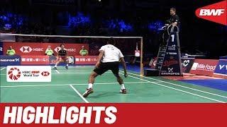 DANISA Denmark Open 2019 | Semifinals MS Highlights | BWF 2019