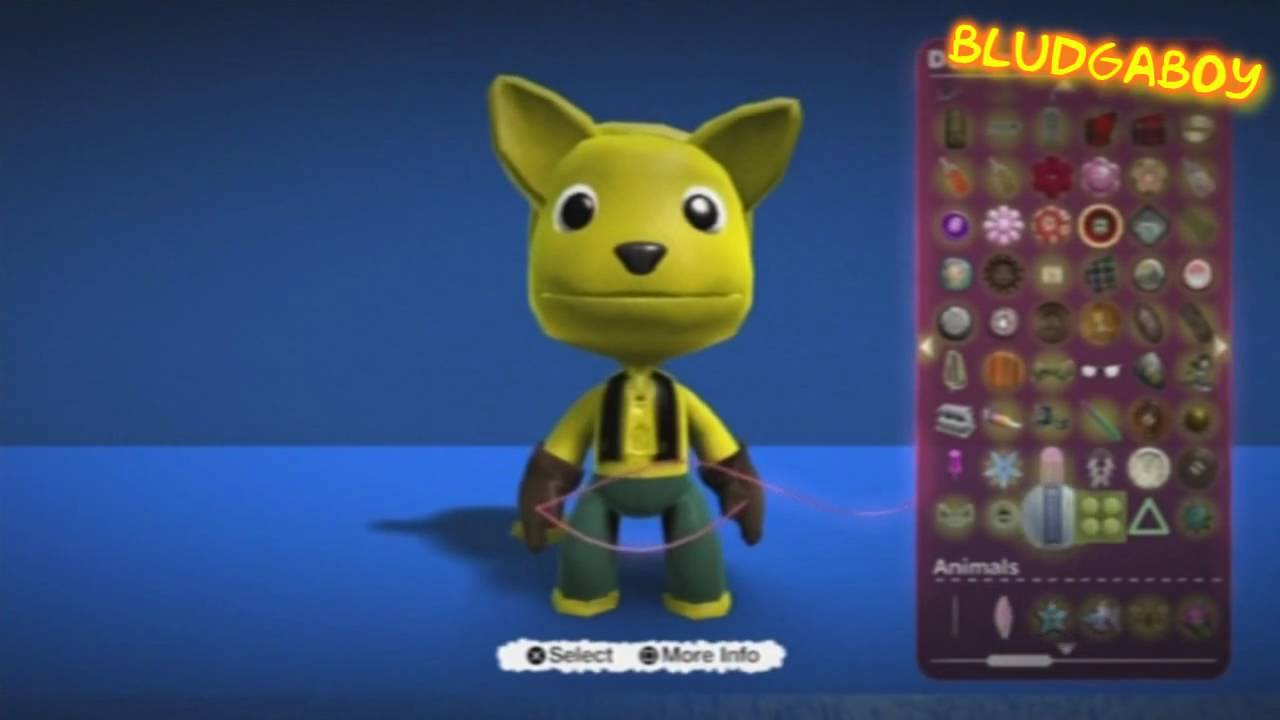 little big planet 1 how to get all costumes free