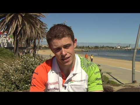 Paul DiResta Force India Pre-Australia Interview