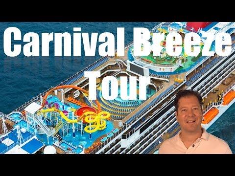 Carnival Breeze Review - Full Walkthrough - Cruise Ship Tour