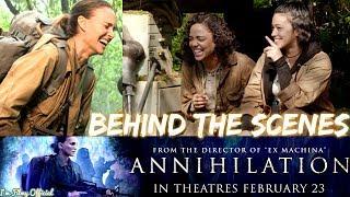 Annihilation Bloopers, B-Roll & Behind the Scenes - Natalie Portman 2018