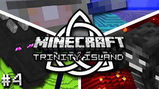 Minecraft: Trinity Island Hardcore Survival Ep. 4 - RISKY MINING