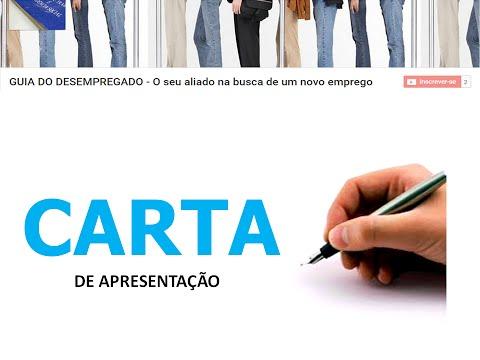 Видео Mensagem de apresentação emprego