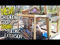 NEW Chicken Coop TOUR! | ADDING An Extension! | Poultry Care