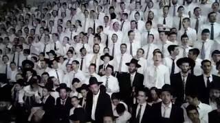 נעילת החג בישיבת פוניבז' בהשתתפות מרן שר התורה הגר