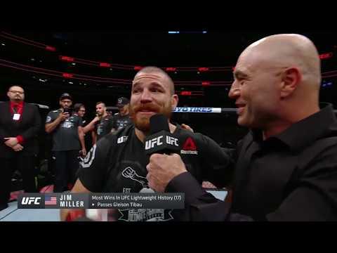 UFC 228: Jim Miller - Octagon Interview