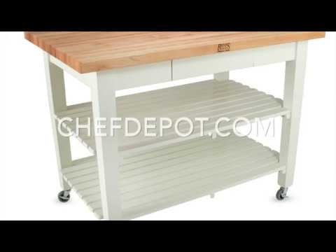 John Boos Classic Country Work Table