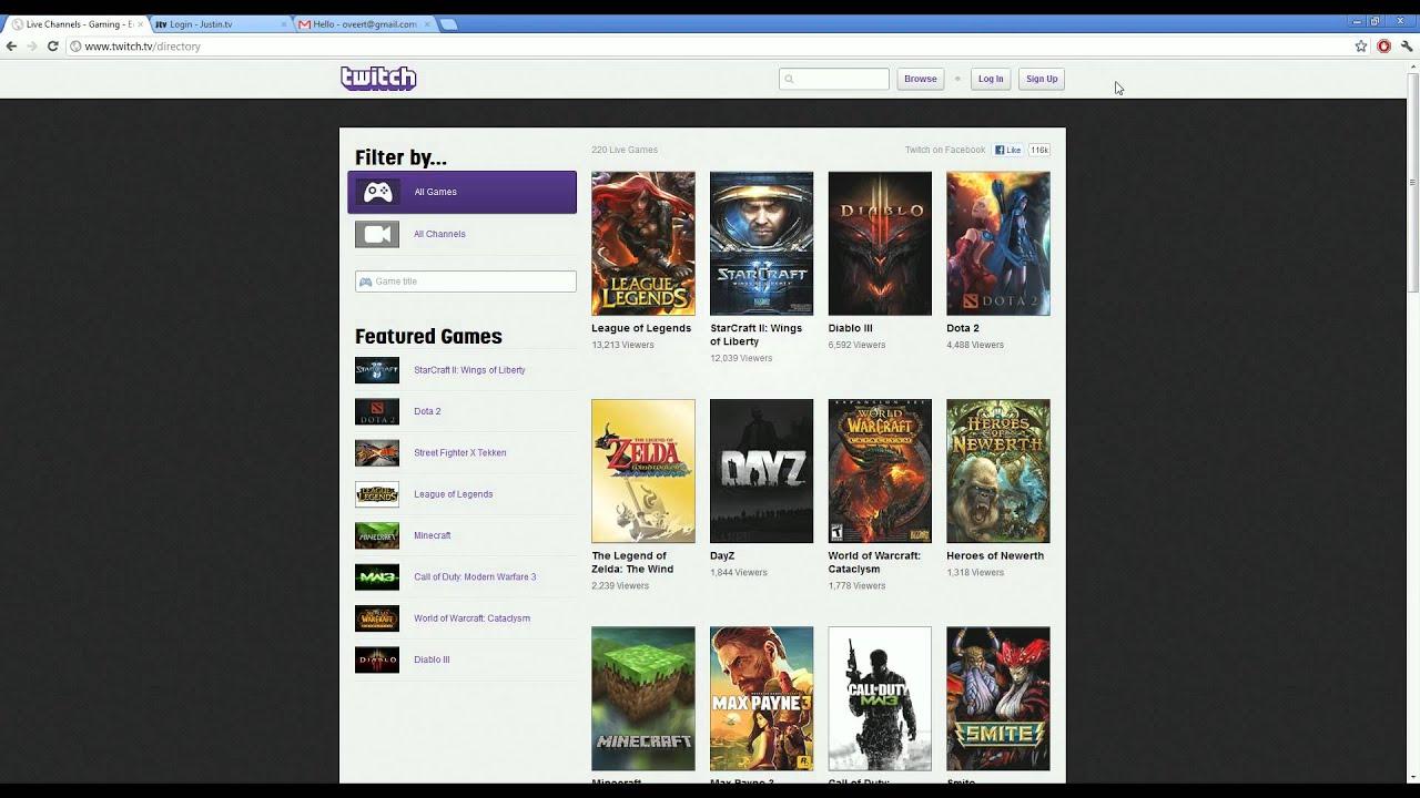 Twitch tv login issue