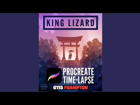 Procreate Time Lapse - King Lizard