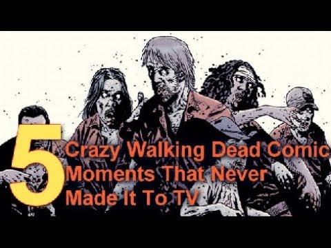 5 Crazy The Walking Dead Comic Moments That Never Made It To TV