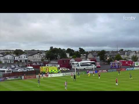 Highlights: Derry City FC 1 - 4 FC Midtjylland (UEL Q1)