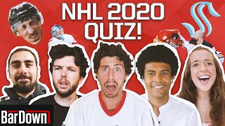 CAN YOU PASS THIS 2020 NHL SEASON QUIZ?