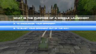 Cars 2 The Video Game - London Agent Spy Training