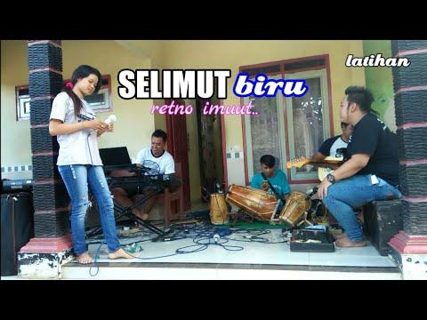 SELIMUT BIRU dangdut (versi latihan) voc: retno bareng jembly music electone