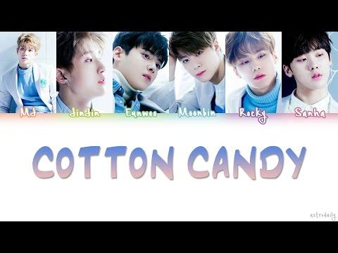 ASTRO (아스트로) – COTTON CANDY Lyrics (Color Coded/ENG/ROM/HAN)