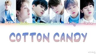 Astro  아스트로  – Cotton Candy Lyrics  Color Coded/eng/rom/han