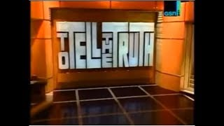 To Tell The Truth Theme 1990 Unused 2