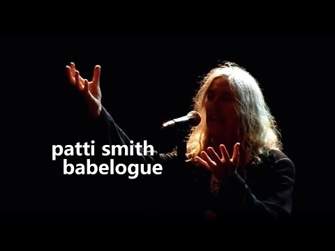 patti smith - live in stuttgart 2014 - the future is now !
