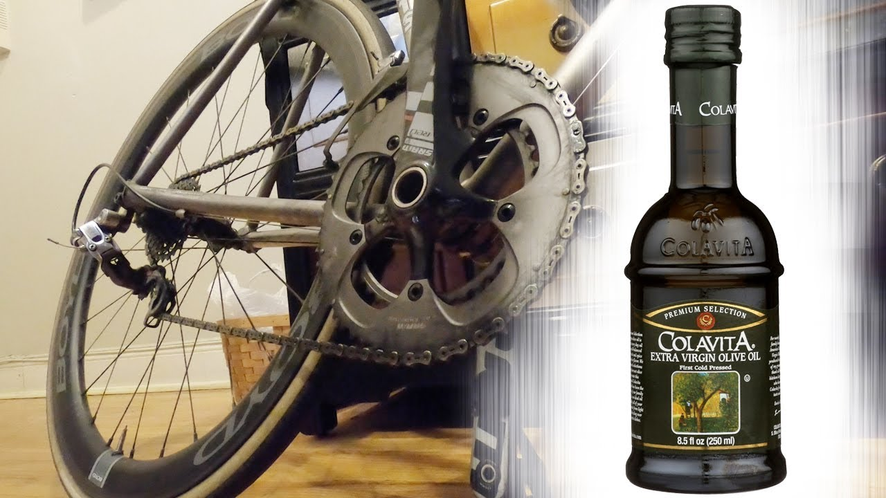 How To Use Olive Oil As Bicycle Chain Lube Youtube