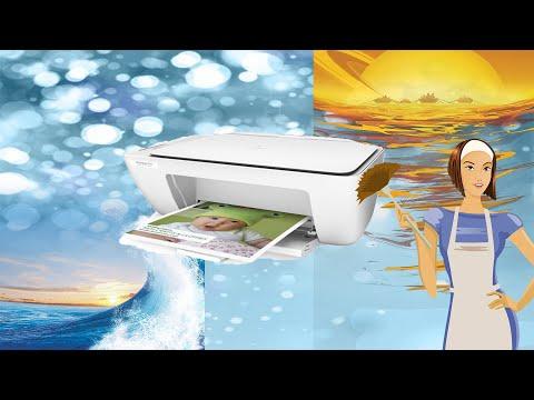 HP DeskJet 2130 самостоятельное обслуживание и ремонт принтер не печатает или печатает с полосами