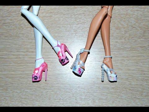 Ботинки своими руками куклами