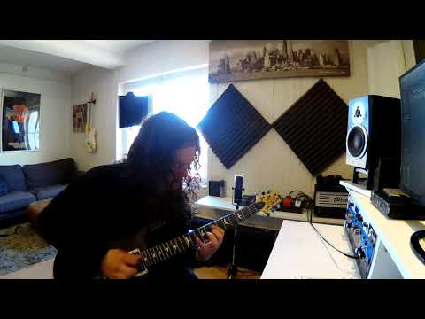 "Paralydium / John Berg - ""Crystal Of Infinity"" Guitar Playthrough"