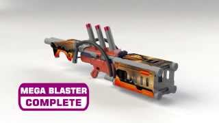 Mega Construction - Mega Blaster Workshop - Instructions