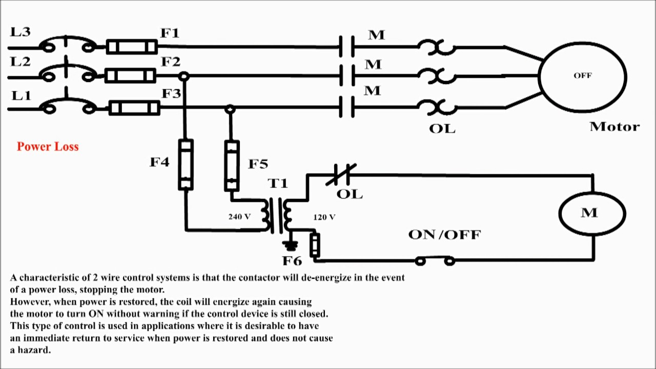 2 wire control uses of 2 wire control 2 wire control circuit rh youtube com Circuit Wire 02 Electrical Circuit Diagrams