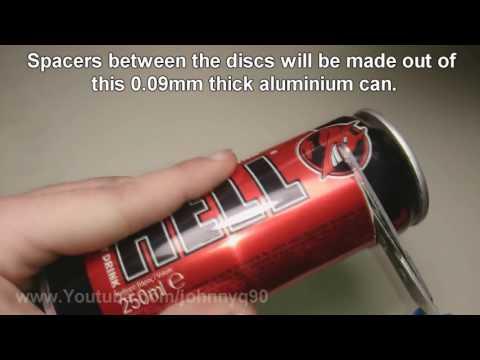 Making A Powerful Micro Tesla Turbine Full Video