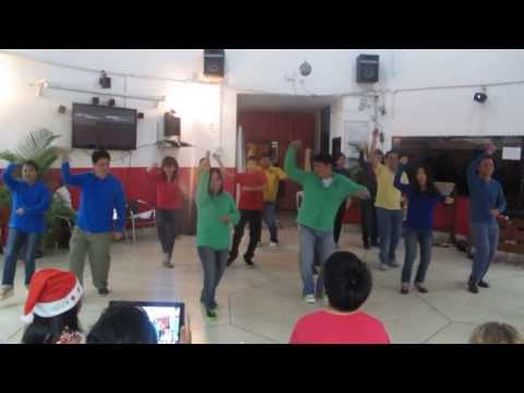 AIT Christian Fellowship Couple Dance All I want for Christmas 2013