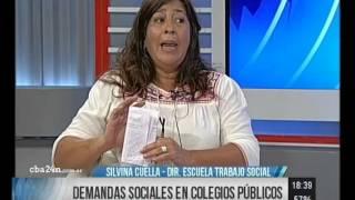 cba24n 24 crdoba entrevista a silvina cuella directora de la escuela de trabajo social de la unc
