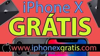Como Ganhar iPhone X Gratis - Funciona 2018