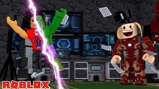 ROBLOX SUPERHERO TYCOON - DONUT TURNS INTO A SUPERHERO BUT WHICH ONE??