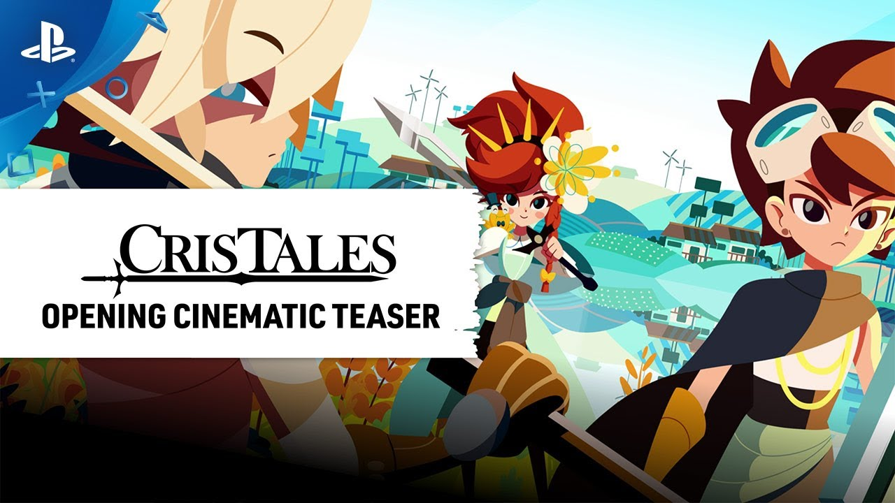 Cris Tales - Release Date Reveal Cinematic Teaser   PS4
