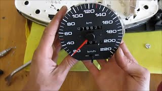 Audi 100, 2.3, 1990 - Перестал работать одометр(Извечная проблема приборных досок, устанавливаемых на Audi 100/200/V8 в кузове С3, Audi 100/A6 в кузове С4, Audi 80/90 в кузов..., 2016-07-15T10:19:25.000Z)