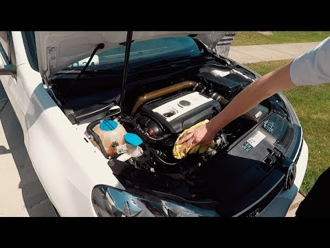 How To Clean Your Engine Bay - Static Mk6 Gti