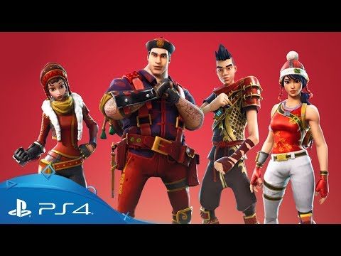Fornite (Save The World) | Lunar New Year Event | PS4