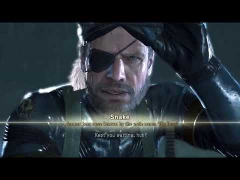 Metal Gear Solid V Ground Zeroes - Intro